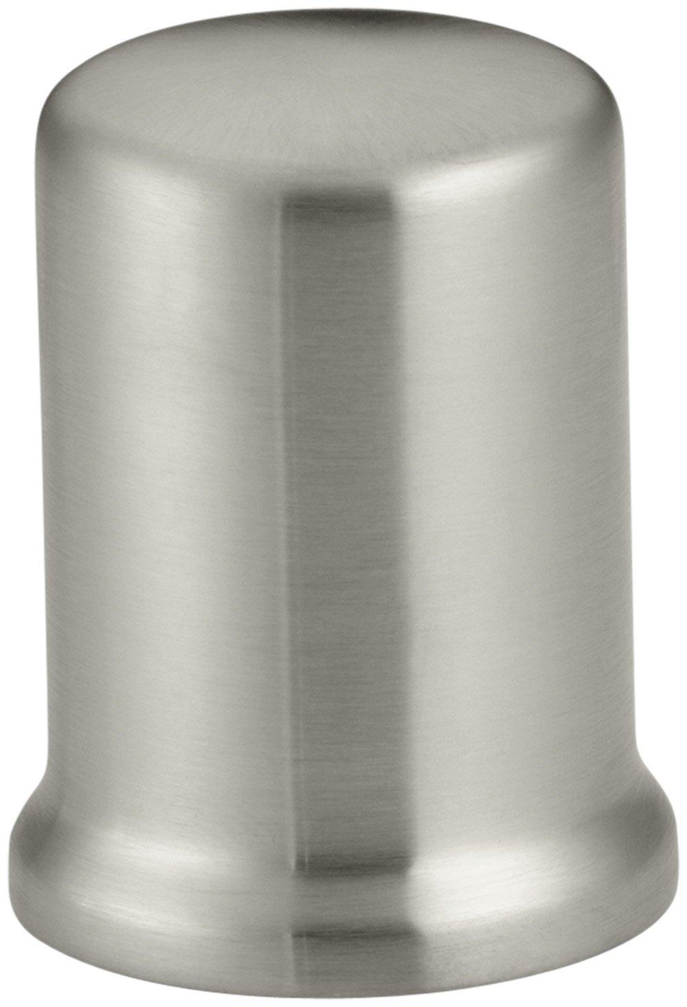 KOHLER K-9111-BN Air Gap Cover with Collar, Vibrant Brushed Nickel