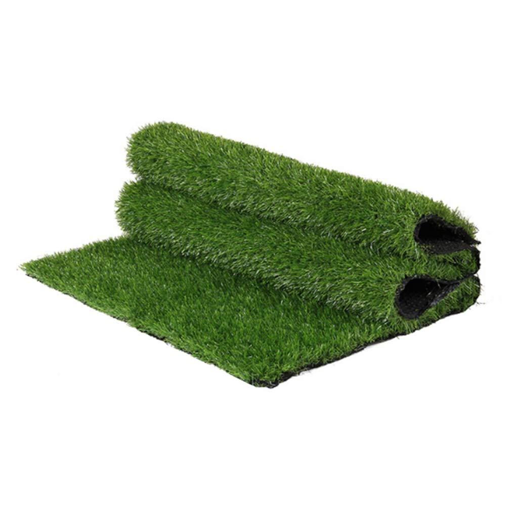 YNFNGXU 高品質合成人工芝25ミリメートルパイル高暗号化偽の芝生ナチュラルリアルリアルガーデンペット犬の芝生(2mx1m) (サイズ さいず : 12x1m) B07RKVS2JR  12x1m