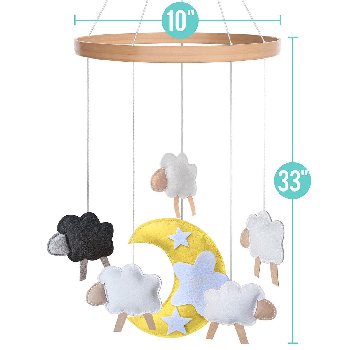 B/éb/é Lit Mobile/ /Jouets pour gar/çons Filles par I Love Bub Baa Baa Black Sheep
