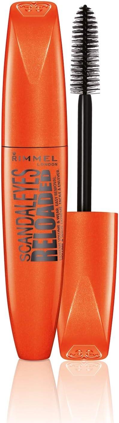 Oferta amazon: Rimmel London Scandaleyes Reloaded Máscara de Pestañas Tono 001 Black - 12 ml