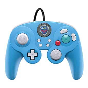 Pdp Gaming Legend Of Zelda Link Gamecube Wired Fight Pad Pro Controller Link Nintendo Switch Video Games