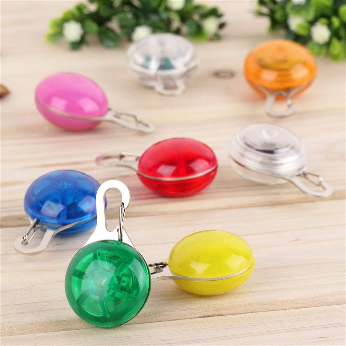 Moliies Super Bright Dogs LED Pendant Portable Pet Necklace Durable Night Light Flashing Collar Universal Pet Supplies