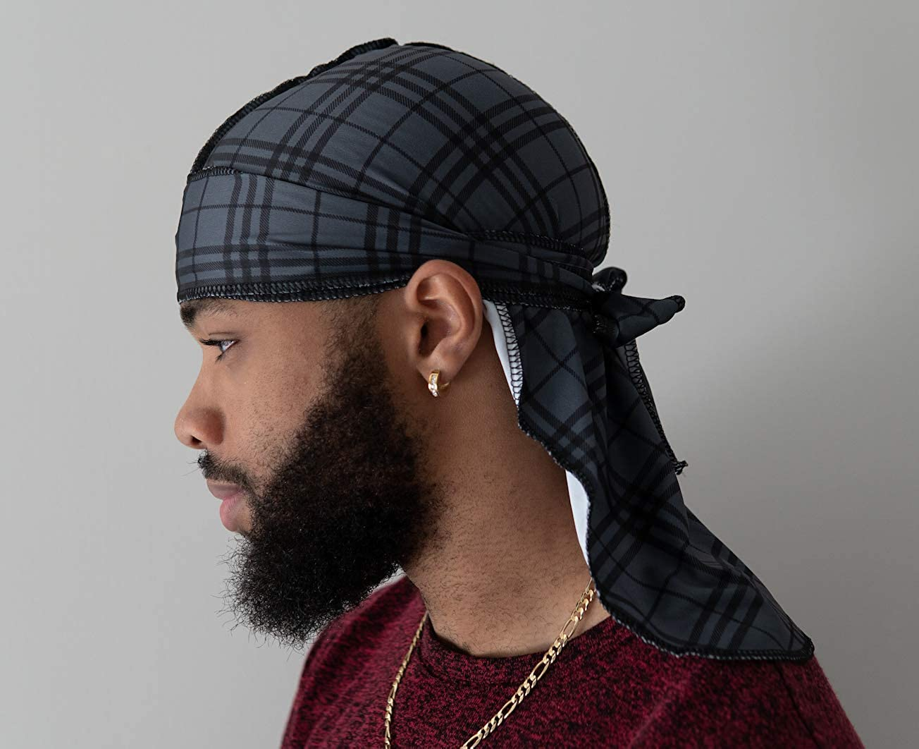 Customs Slippery Apparel Fashion Durags LV Supreme Ape /& More Designer Durag 60+ Designs