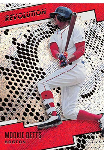 2018 Panini Chronicles Revolution Rapture (Blaster Exclusive) #17 Mookie Betts Boston Red Sox (Boston Red Sox Revolution)