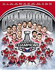 Washington Capitals 2018 Stanley Cup Campions, Braden Holtby & Alex Ovechkin Team Collage 8x10 Photo Picture