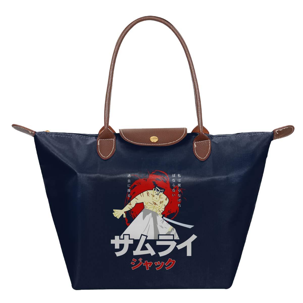 Samurai Jack Leather Handbag Purse