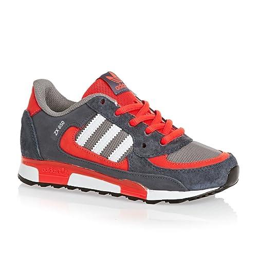 adidas Sneaker ZX 850 K Grigio/Arancione EU 31: Amazon.it: Scarpe e borse