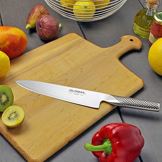 Amazon.com: Cuchillo de chef Global G-2: Gyuto japonés de 8 ...