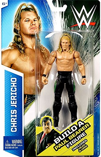Mattel WWE, Basic Series, Chris Jericho Exclusive Action Figure [Build Paul Bearer] by Mattel