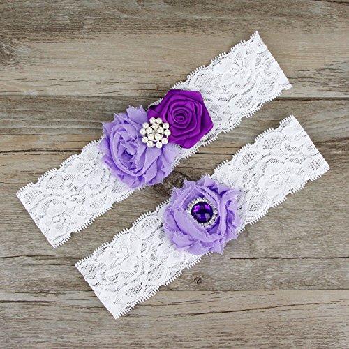 Vintage Lace Wedding Garter Set: Oyeahbridal White Bride Wedding Garter Belt Set Lace