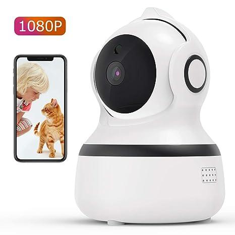 CACAGOO1080P Cámara IP WiFi,Cámara de Vigilancia FHD con Visión ...