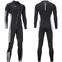 Kombinezon mokry dla mężczyzn i kobiet 3 mm neoprenowy kombinezon do nurkowania z zamkiem błyskawicznym z przodu do…