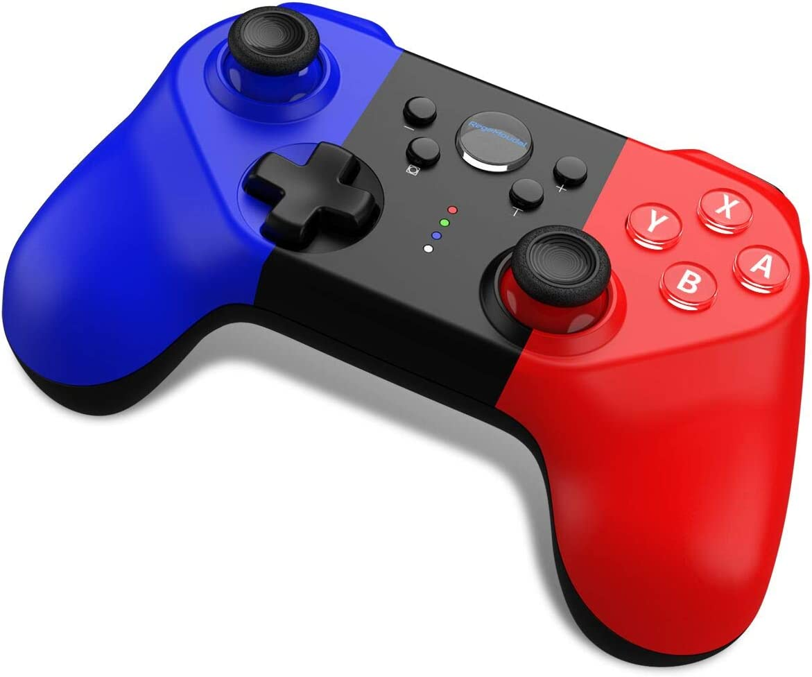[2020 New Version] Switch Controller for Nintendo, RegeMoudal Switch Pro Controller with 6-axis Somatosensory , 4-Level Vibration Game Controller with 360°Joystick and Turbo Function Design