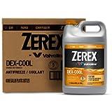 Zerex ZXELRU1-6PK DEX-Cool Ready-to-Use Antifreeze/Coolant - 1 Gallon, (Case of 6)