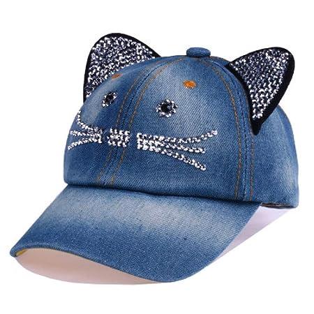 kyprx Sombreros para el Sol para Mujer Sol para Mujer Béisbol ...