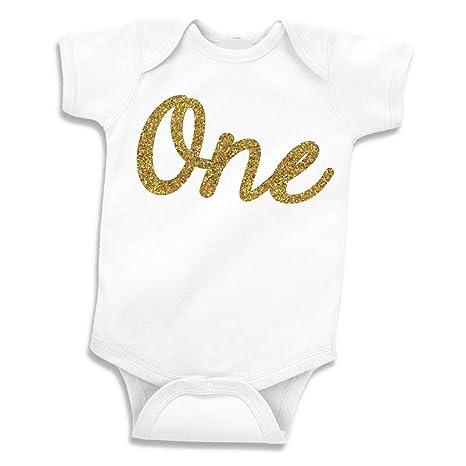 Para primer cumpleaños de camisa, Chica Body de bebé, diseño ...