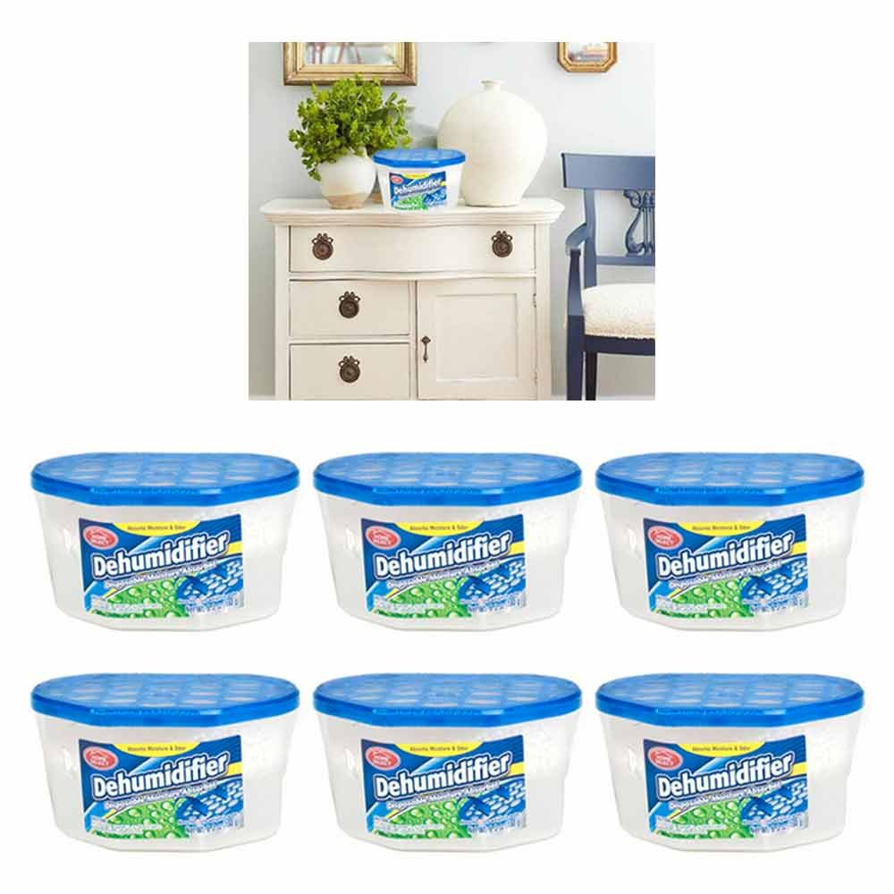 43fa76fb3 Amazon.com - 6 Dehumidifier Disposable Moisture Absorber Damp Trap Mold  Closet Fresh Air Home -