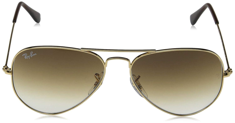 e9d1d32ea Ray-Ban Men's 0RB3025 Aviator Sunglasses, Gold: Ray-Ban: Amazon.ae: delma. glasses