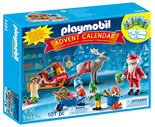PLAYMOBIL Santa's Workshop Advent Calendar (Discontinued by - Calendar Advent Shop