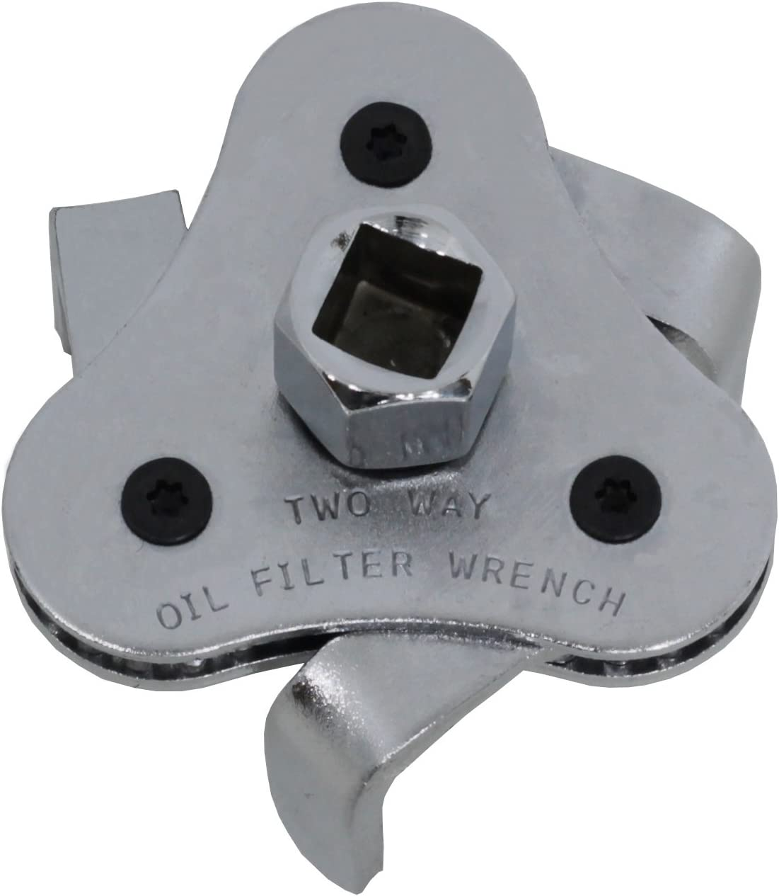Stanford /Ölfilterschl/üssel 3-armig 3//8 Zoll 63-102mm inkl Adapter auf 1//2 Zoll