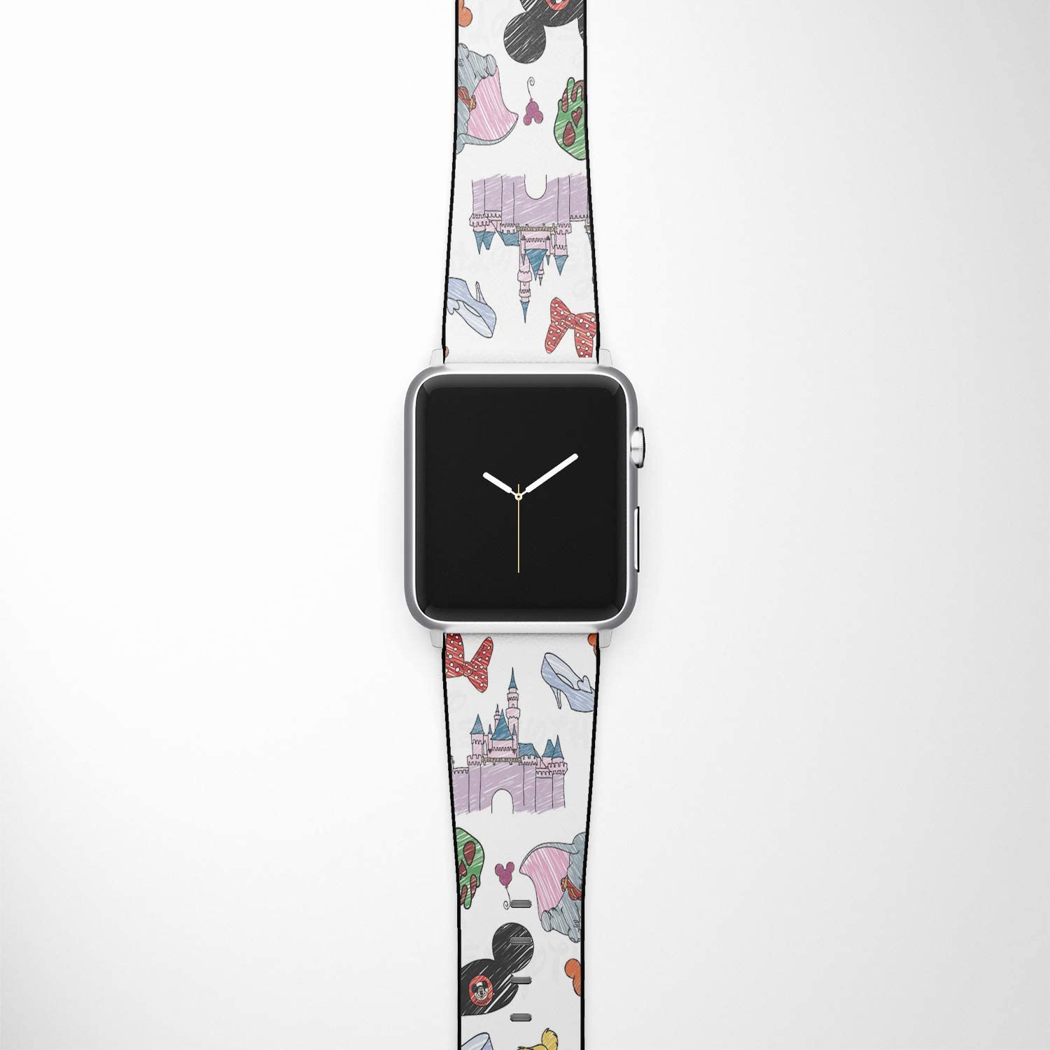 Watch Band Compatible with Apple iWatch All Series 38mm 40mm 42mm 44mm Cartoon Design Strap (lking1) (38/40mm)