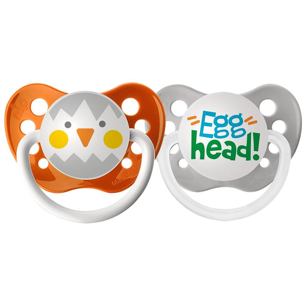 ●日本正規品● Ulubulu Holiday Pacifier, Ulubulu Holiday Easter Chicken and Egg Head, 6-18 by Months by Ulubulu B01HT4HP16, カワネチョウ:a761ba16 --- a0267596.xsph.ru