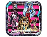 American Greetings Monster High Square Party Plate (8 Count), 9''