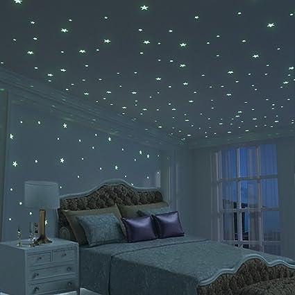 Beau Glow Star Kid Bedroom Wall Stickers   225 PCS Brightest U0026 Biggest Stars  (10.5cm