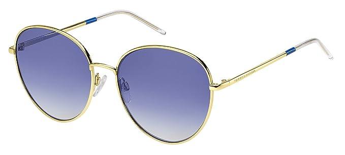Tommy Hilfiger TH 1649/S Gafas de sol, Multicolor (Gold Blue ...