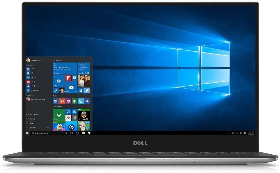 "Dell XPS 13 9350 13.3"" IPS 3200x1800 Quad HD+ Touchscreen Notebook Computer Intel Core i5-6200U 2.3GHz, 8GB RAM, 256GB SSD, 802.11ac dual band, Bluetooth, 720p Webcam, Windows 10 Home 64-bit"