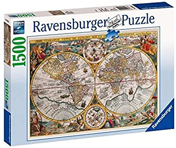 Ravensburger historical map 1500pc jigsaw puzzle amazon toys ravensburger historical map 1500pc jigsaw puzzle gumiabroncs Gallery