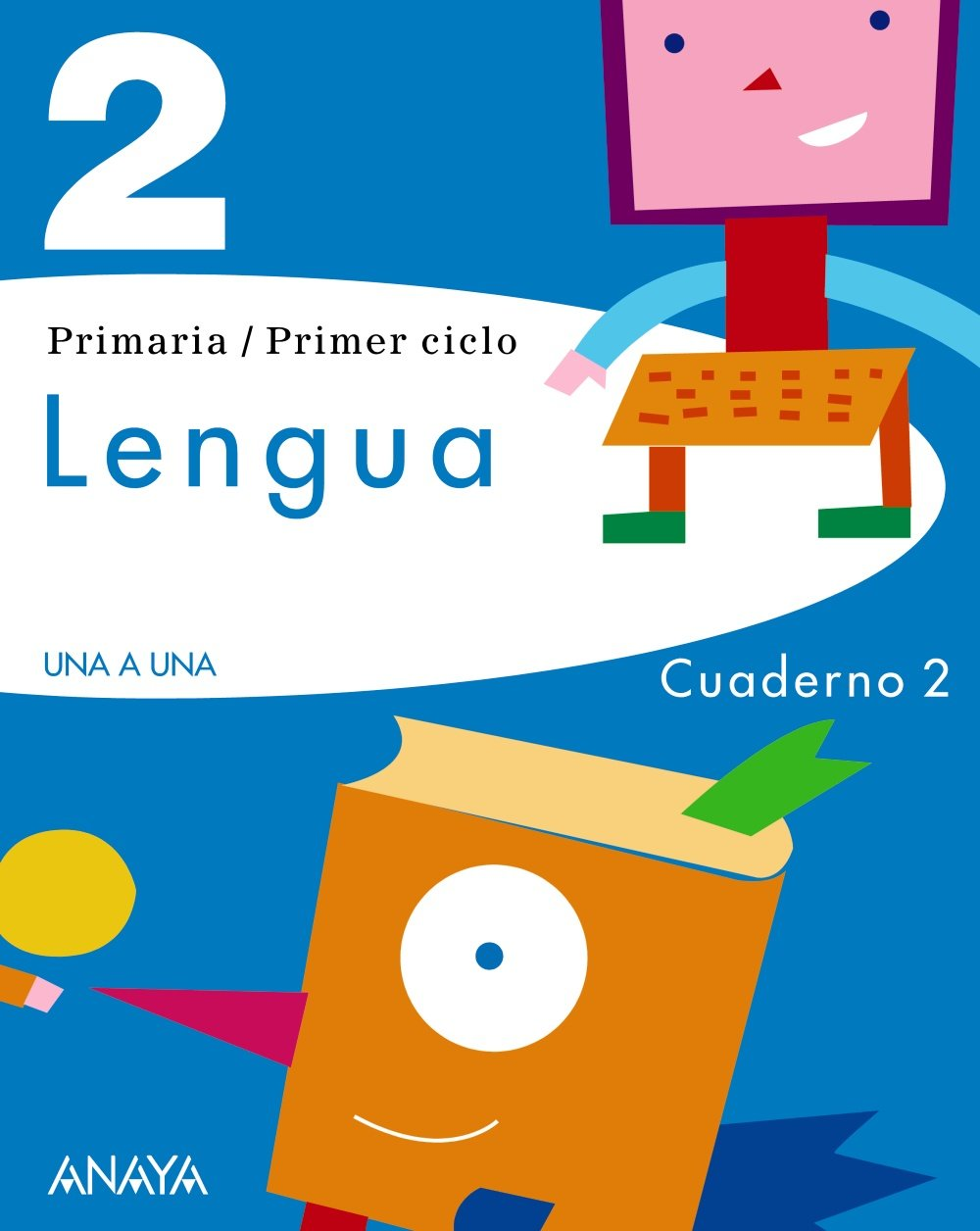 Lengua 2. Cuaderno 2 (Spanish) Paperback – January 1, 1900