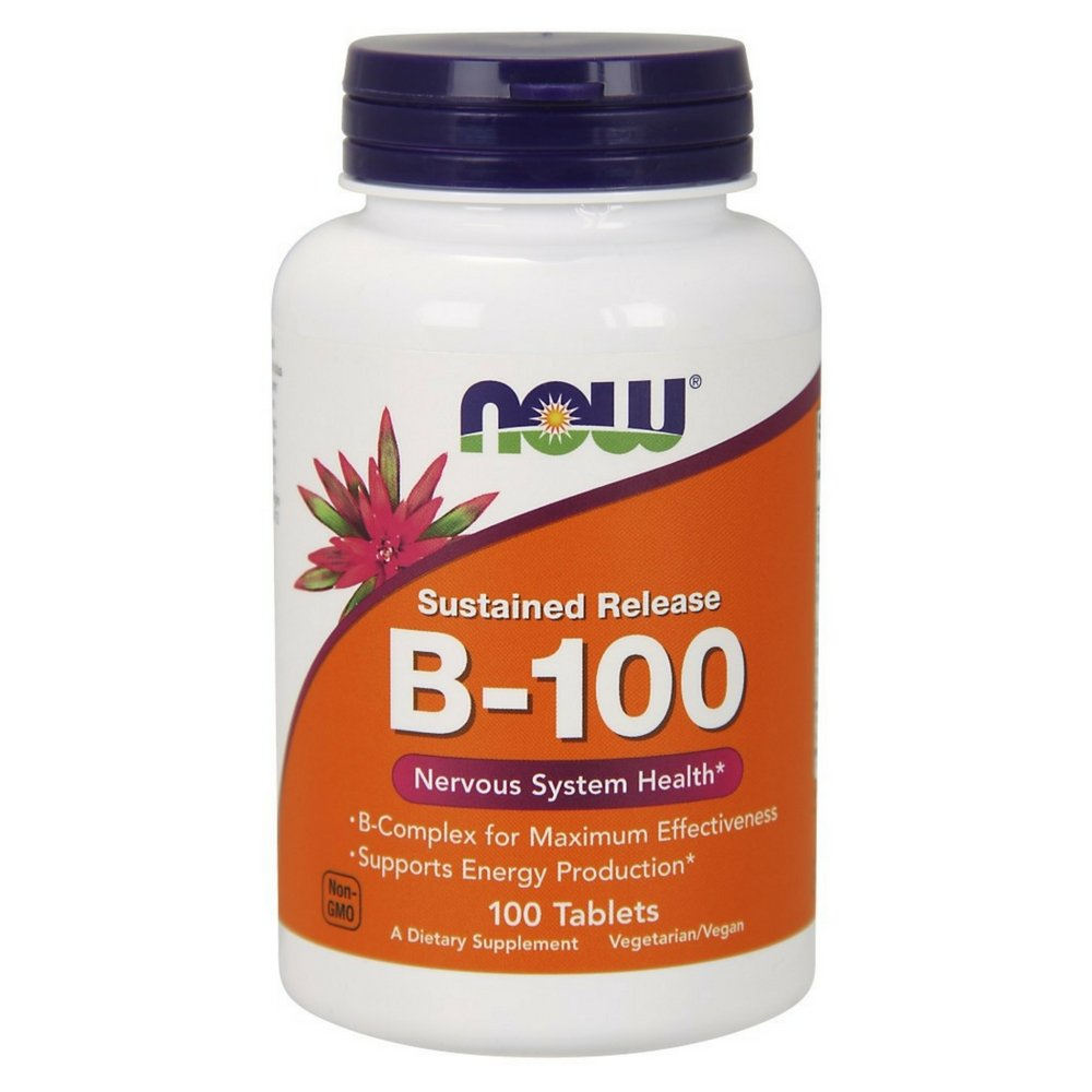 NOW  Vitamin B-100,100 Tablets