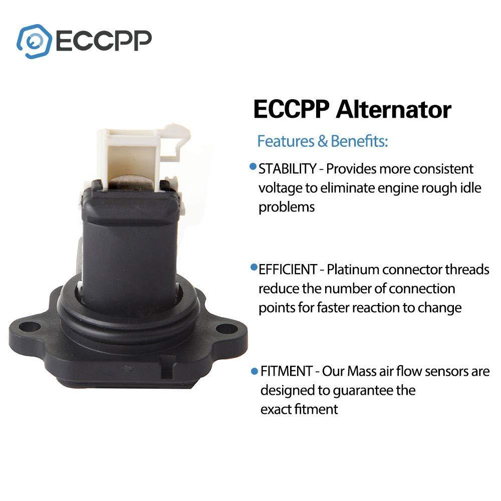 Mass Air Flow Sensor Meter ECCPP MAF 68002441AC for Dodge Ram 2500 3500 6.7L 2007 2008 2009 2010 2011 2012 2013 2014 2015 2016 2017