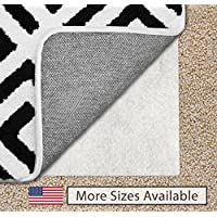 Gorilla Grip Original Area Rug Gripper Pad For Carpeted Floors, Made In USA, Size (5 x 7), Available in Many Sizes, Pads Provide Thick Cushion Under Rugs Over Carpet