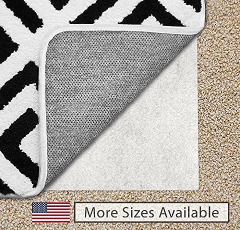 Gorilla Grip 5x8-Feet Non-Slip Area Rug Pad for Carpet (Carpet 8x5)