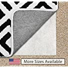 The Original Gorilla Grip (TM) Non-Slip Area Rug Pad for Carpet, Made In USA, Available in 2x3, 3x5, 5x7, 5x8, 4x6, 2x4, 2x8, 6x9, 8x10, 8x11, 9x12, Locks Rugs In Place, No Chemical Odor, (8X10)