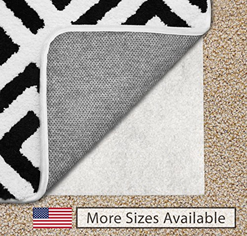Gorilla Grip 2x4-Feet Non-Slip Area Rug Pad for Carpet
