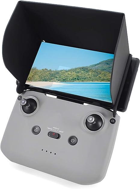 "White 5.5/"" SunShade Visor Hood for DJI Phantom 2//3 Remote  RC quadcopter Slide Q"