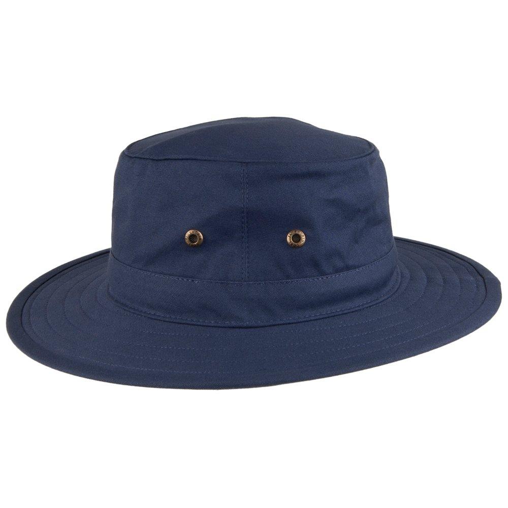 Failsworth Hats Traveller Crushable Sun Hat Navy