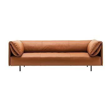Rolf Benz 520 Alma Sofa 4 Sitzer Ocker Bezug Leder 38111 Bxhxt