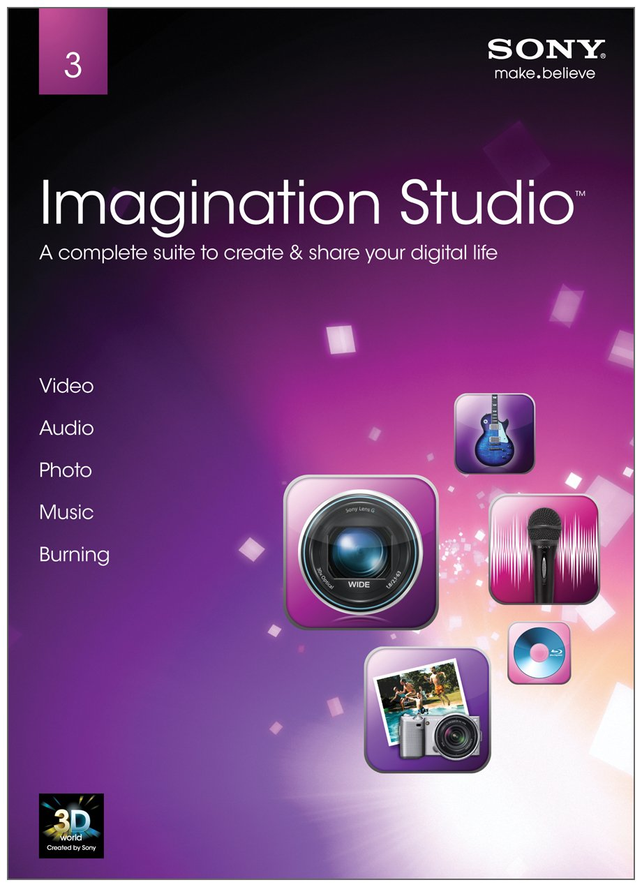 Sony Creative Software Imagination Studio 3 V.3 [Old Version] by Sony