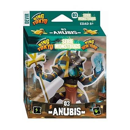 Amazon.com: Devir Iberia- 227314 King of Tokyo Monsters ...