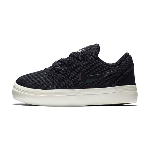 282de07be2e94 Nike SB Check Cnvs (TD) Zapatillas Niños Negro  Amazon.es  Zapatos y  complementos