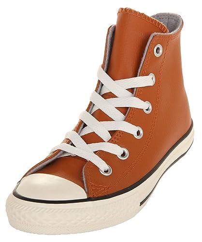 84716b2c32dfca Converse Chuck Taylor All Star High Little Kid s Shoes Antique Sepia Egret  354399c (1.5