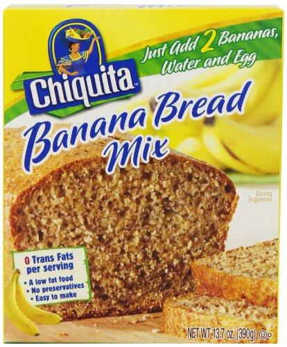 Chiquita Banana Bread Mix, 13.7 oz. (Pack of 12)