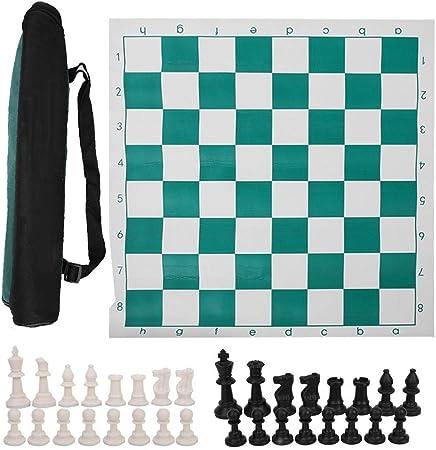 Woyisisi Juego de Tablero de ajedrez Internacional de ajedrez Internacional Bolsa Grande(53cm): Amazon.es: Hogar
