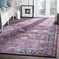 Safavieh Granada Collection GRA352D Fuchsia and Multi Area Rug, 3 x 5