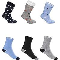 SG-WEAR 12 pares de calcetines para niños para Chico con un alto contenido de algodón Calcetines de deporte coloridos en…