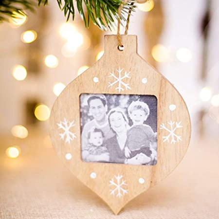 Wooden Photo Frame Christmas Decorationsdiy Photo Frame Christmas